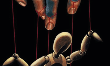 Coercive control puppet